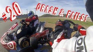 Karting fail & crash compilation #20