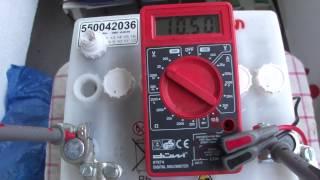 Update on the Potassium Alum car battery - Update zur Kalium Alaun Auto Batterie