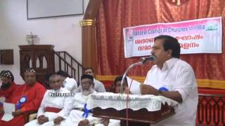 Speech by Ramesh Chennithala at NCCI Meeting, Tiruvalla