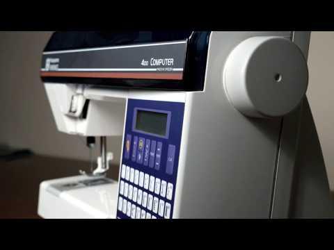 Husqvarna Viking 400 Computer Sewing Machine YouTube