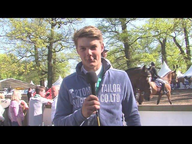 Jesse Luther -  bester Schleswig-Holsteiner in der 2. Qualifikation