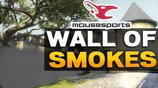 CS:GO Mousesports Wall of Smokes auf Cobble [German]