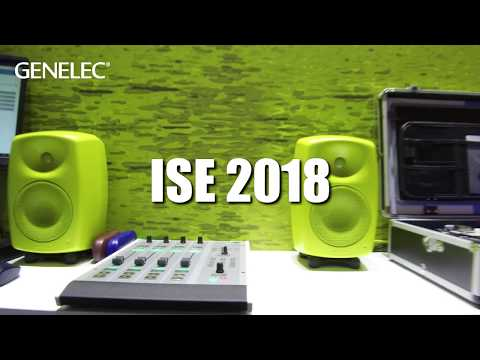 Genelec At Ise 2018  Ravenna  8430 Speakers