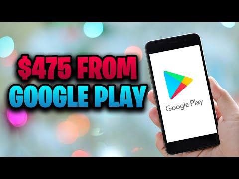 GET PAID $475 FROM GOOGLE PLAY STORE [Make Money Online FOR FREE]