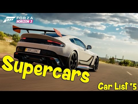 Forza Horizon New Supercars Surfers Paradise Screenshot Car