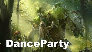 Stay in the Trees Na`Vi Dance Party Dota 2