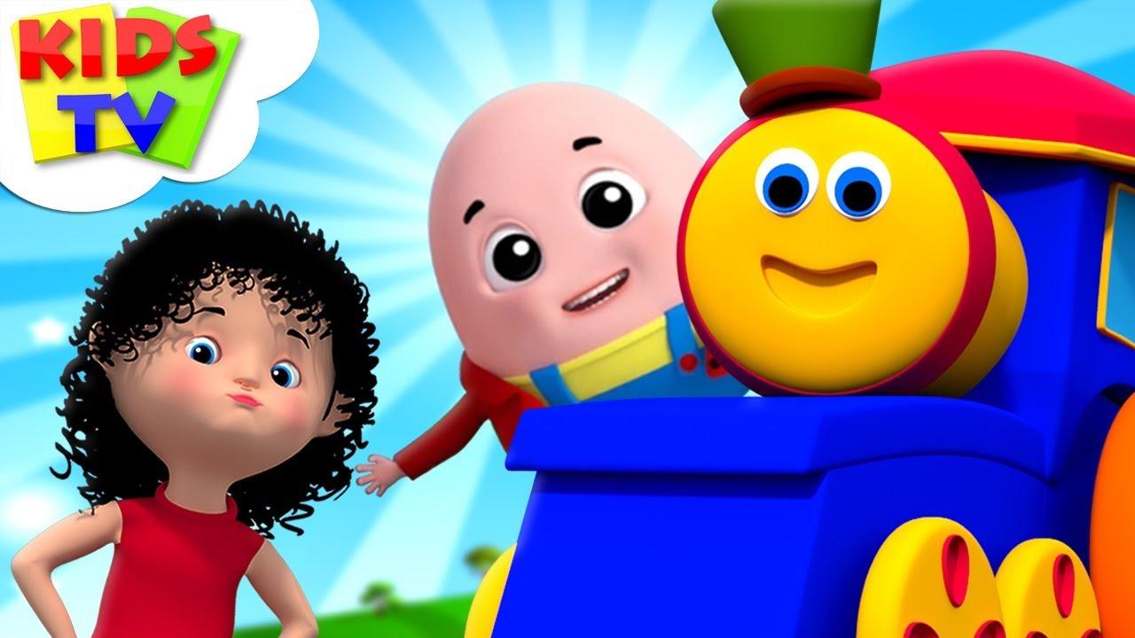 Kids Nursery Rhymes Songs Collection   Bob The Train Cartoons - Kids TV