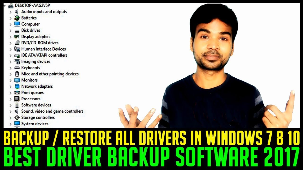 How to restore the driver