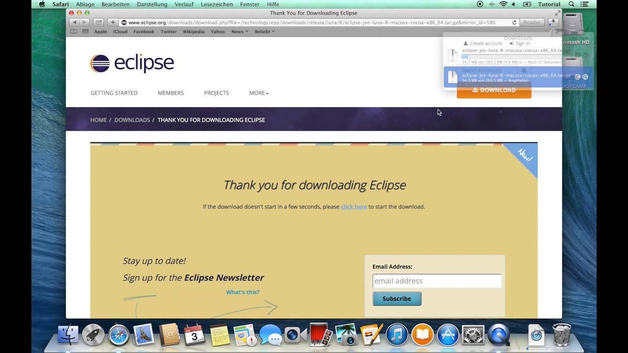 Eclipse - Download (Mac)