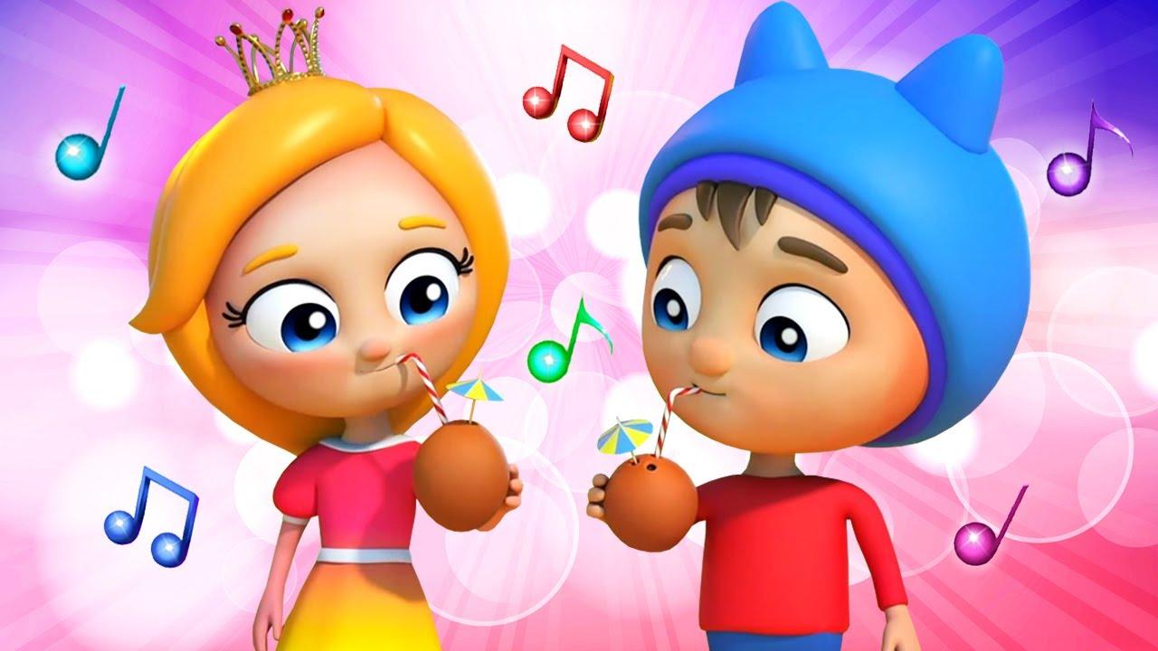 Веселые детские песенки про ФРУКТЫ с Синой и Ло. Сборник для малышей