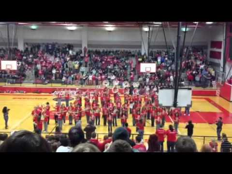 Gangnam Style - Crosby High School Big Red Machine