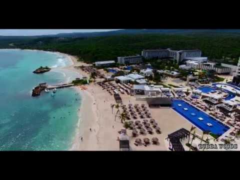 Royalton Blue Waters Jamaica Drone Footage 4k