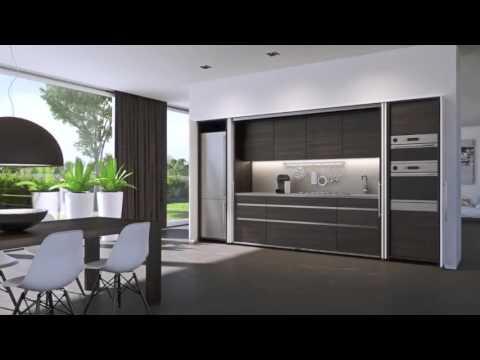Cucina a scomparsa - YouTube