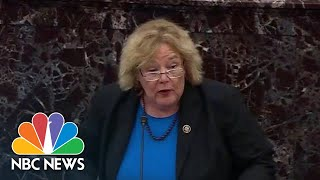 Zoe Lofgren: 'A Trial Without All The Relevant Evidence Is Not A Fair Trial'   NBC News