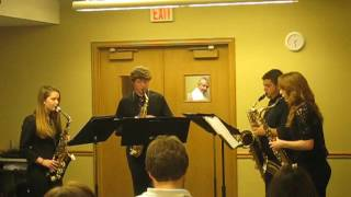 Saxissimo, saxophone quartet from Seckman HS in Imperial, Missouri ...