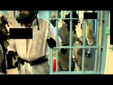 Schoking video mentally ill prisoners forced from cells with pepper spray