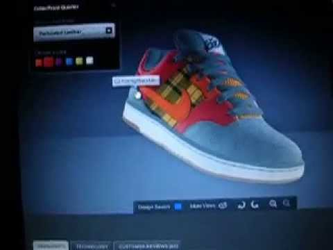 design your own shoe nike