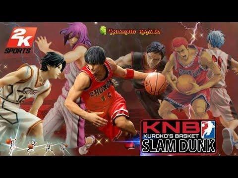 Gameplay Slamdunk X Kuroko No Basuke V1.2 Mod + Obb