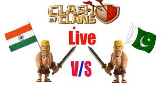 india vs pakistan live Clan War  best indian clan war ever in coc  clash of clans