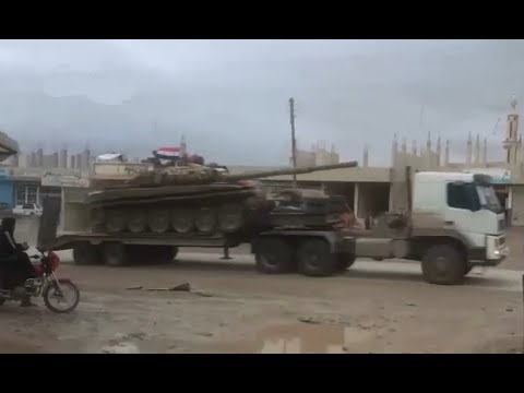 Reinforcements arriving to Damascus for upcoming Eastern Ghouta offensive