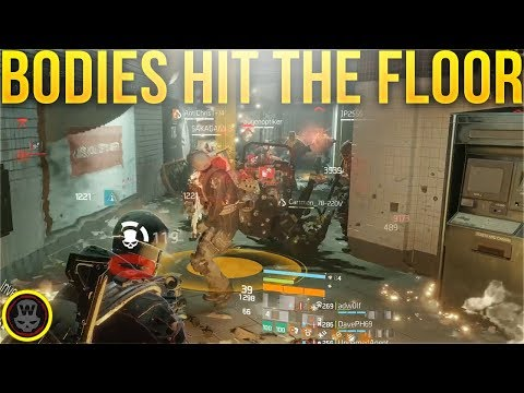 LET THE BODIES HIT THE FLOOR! (The Division 1.8.2)
