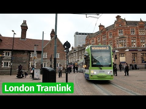 London Tramlink in Croydon
