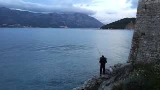 Быстрая рыбалка в Будве  Черногория