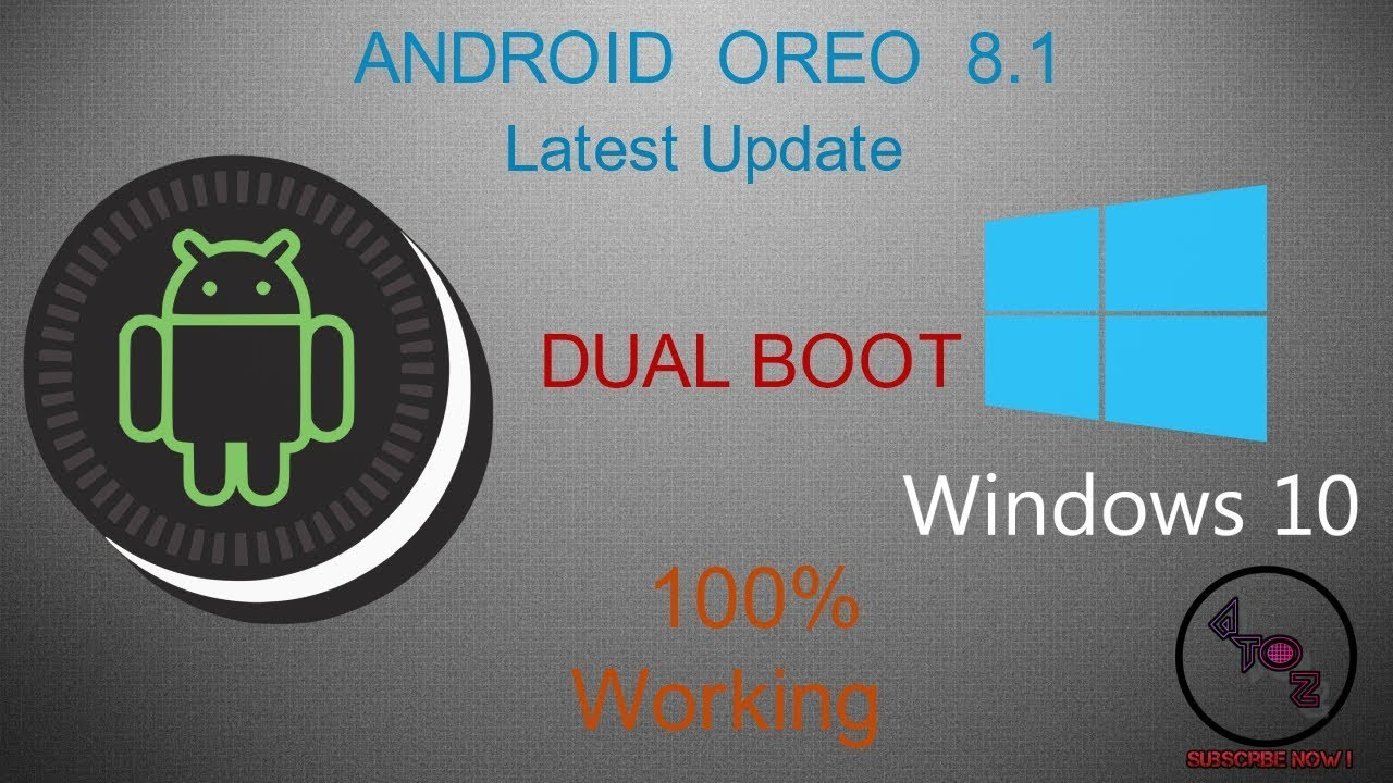 How to Install [Android Oreo 8 1 ISO] x86-x64 Latest Version on PC and  Laptop [Dual Boot]