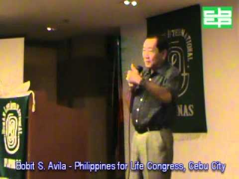 Bobit Avila @ Philippines for Life Congress Summit Circle Hotel Cebu City