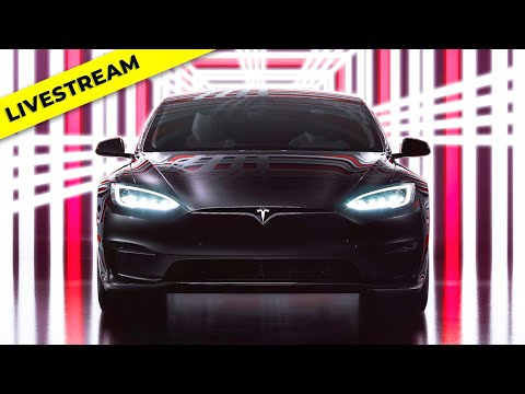 Tesla Model S Plaid Delivery Event Live Replay + Reaction & Analysis