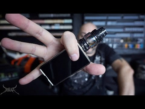 Horizontech Falcon Sub Ohm Tank Review and Ripout Coil Inspection   Resin and Artisan Edition
