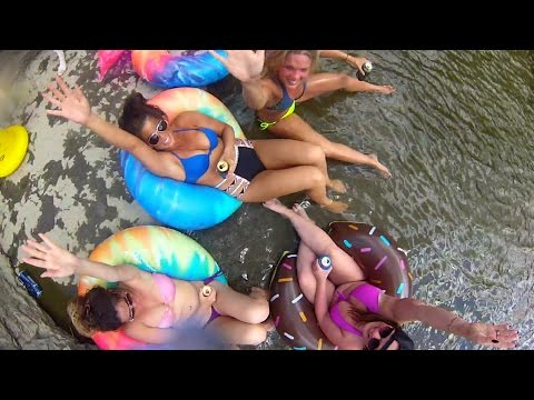 EXTREME CLIFF JUMPING ☀ NEW YORK USA DIVING ADVENTURE ☀ SUMMER BIKINIS + GOPRO + DJI PHANTOM DRONE