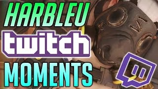 [Overwatch] HARBLEU AWESOME TWITCH.TV Overwatch Moments #1