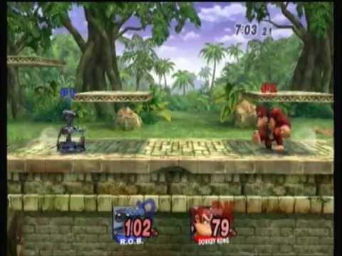Round 2: R.O.B. (Blue Team) vs. DK (Red Team)