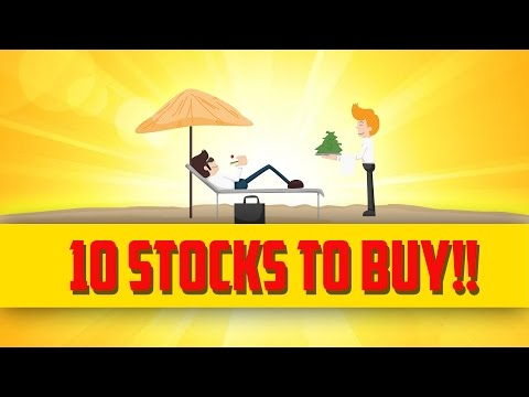 10 AMERICAN STOCKS THAT PAY DIVIDENDS 2017!!!