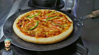 Tawa Pizza without Oven