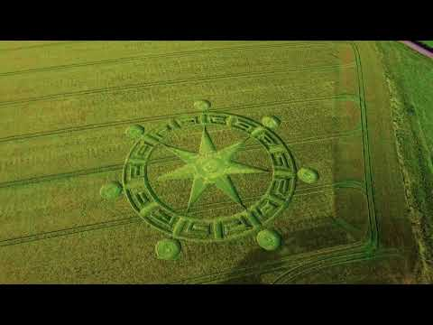nouvel ordre mondial   CROP CIRCLE in Sixpenny Handley, UK - June 4, 2018