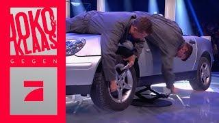 Verrückter Reifenwechsel - Die Reifeprüfung | Finale | Joko & Klaas gegen ProSieben
