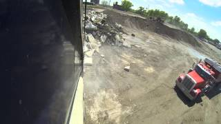 GoPro Hero 3 Black 1080 Video Test At The Top Of A Dump Truck