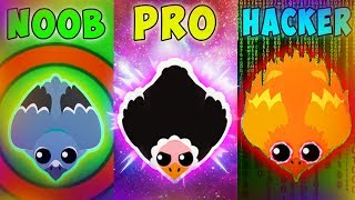 NOOB vs PRO vs HACKER IN MOPE.IO | FUNNY MOMENTS!
