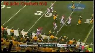 RB John Crockett vs Sam Houston State (2014)