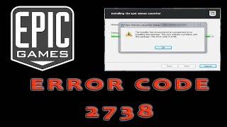 Fortnite Error code 2738