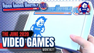 What's inside the Video Games Monthly Subscription Box for June 2020? | Video Unboxing!