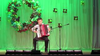 """Перепелочка"". Константин Божога, 10 лет (3 месяца обучения)."