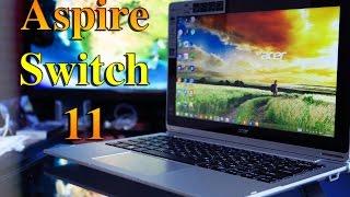 видео Краткий обзор ноутбука-трансформера Acer Aspire Switch One 10 SW1-011