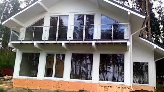 Панорамный дом в стиле Фахверк под крышу за 10 дней(, 2017-07-18T20:45:14.000Z)