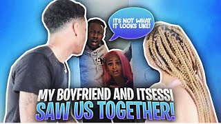 CHEATING WITH THE DOOR LOCKED PRANK ON MY BOYFRIEND & ITSESSI