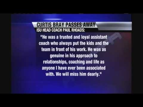Bray, ISU Defensive Coach Dead at 43