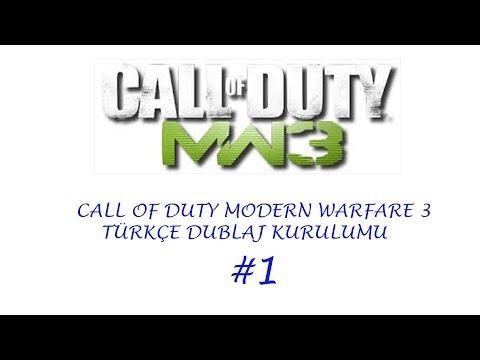 Of Duty Modern Warfare Turkce Dublaj Kurulumu