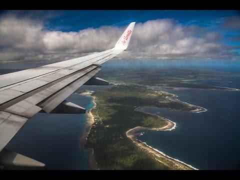Flying into Vanuatu (Vanuatu Video 1)